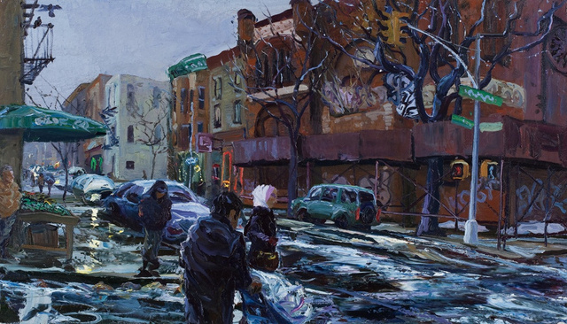 "4th Ave., Brooklyn, 24 x 36""        sold"