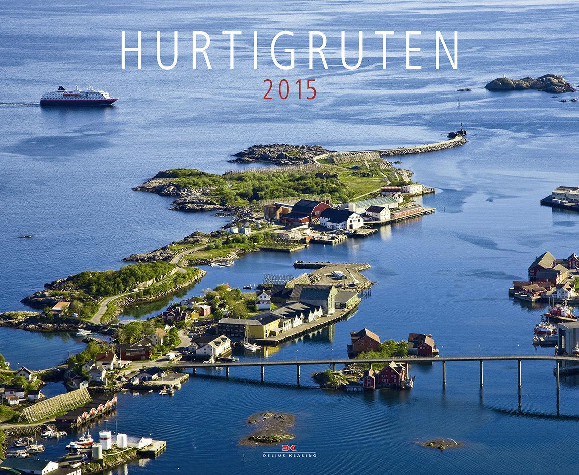 Cover Kalender Hurtigruten 2015