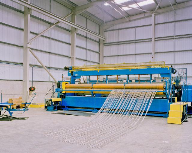 Zaun Limited warehouse, Wolverhampton, 2012