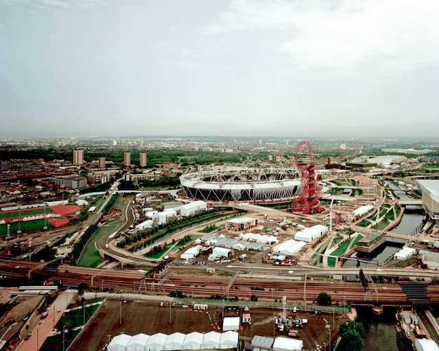Olympic Park, Stratford, 2012