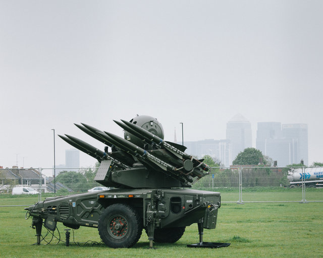 Missiles on Blackheath Common, 2012