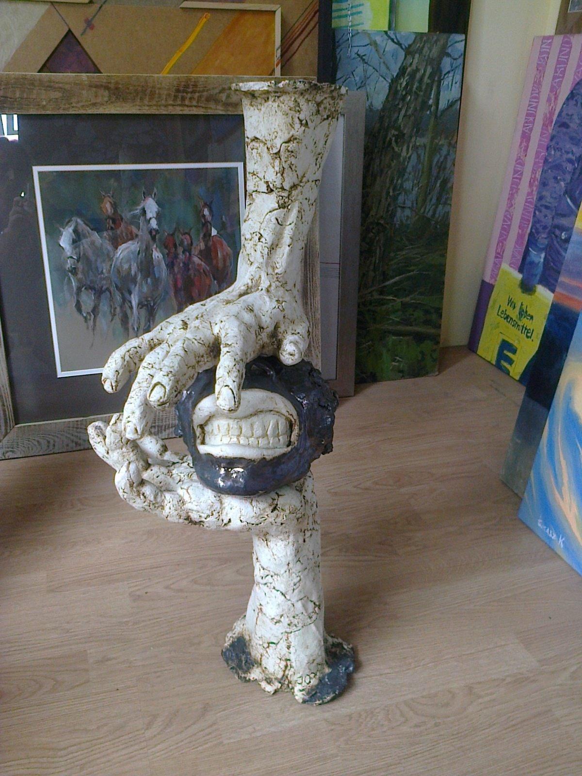 Usta ok. 70 cm ceramika szamotowa, szklwo