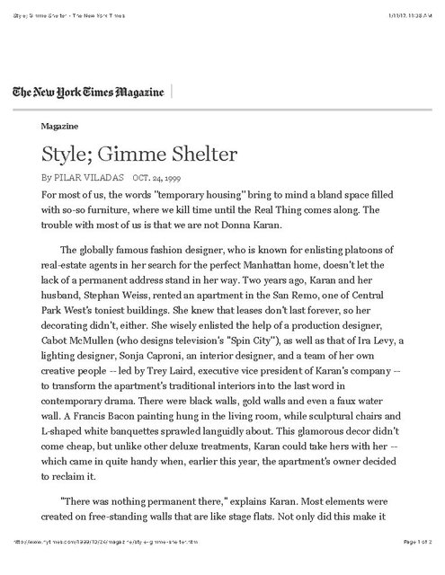 Style; Gimme Shelter - The New York Times_Page_1.jpg