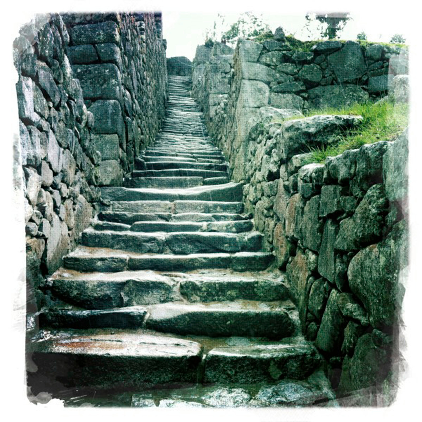 Steps of Machu Picchu
