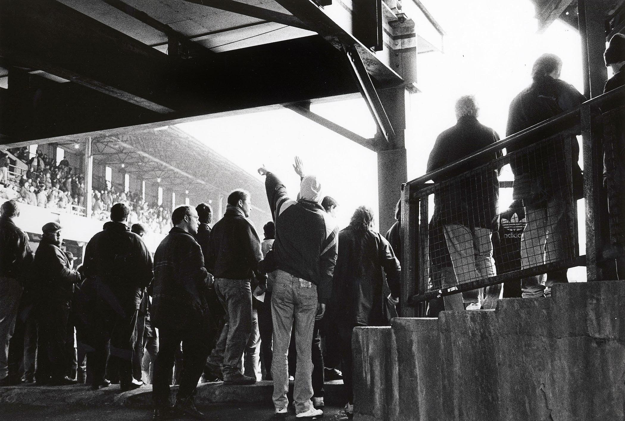 Baseball Ground, Derby.