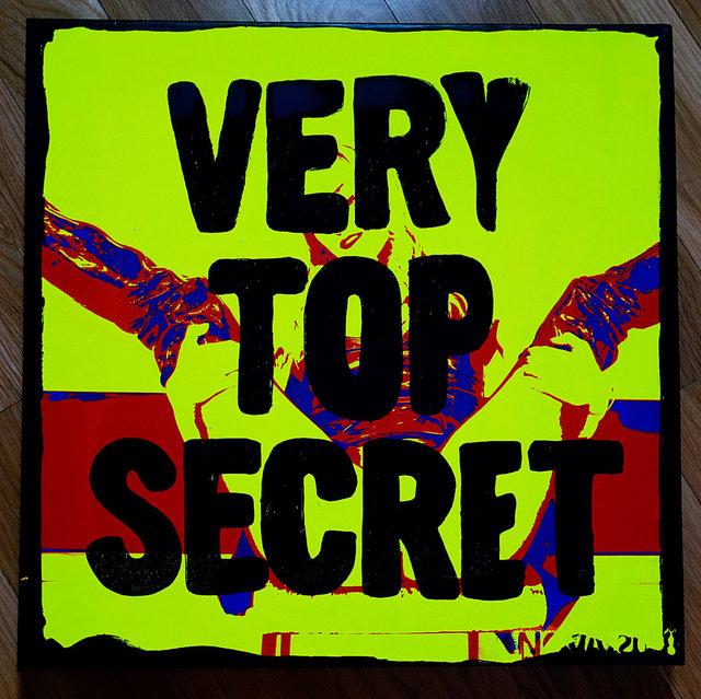 VERY TOP SECRET, self-portrait