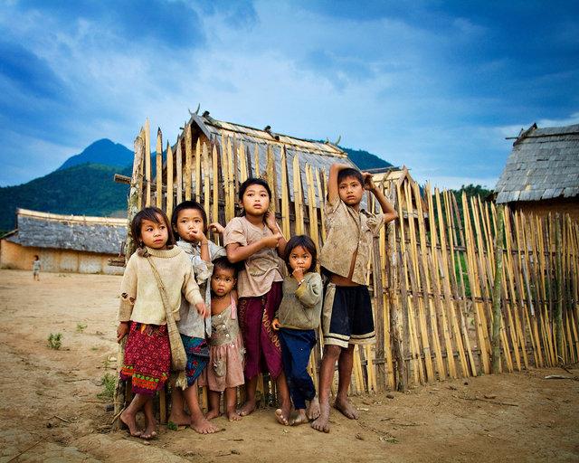 Laos Village Kids