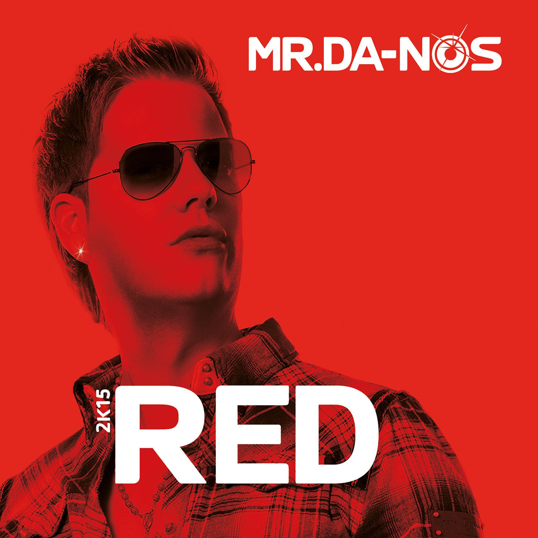 MR.DA-NOS - RED (CD-Cover)