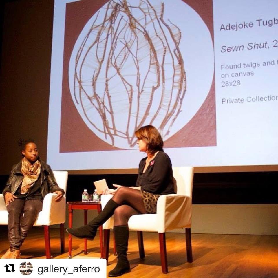 Conversation w: Christa Clarke at The Newark Museum.JPG