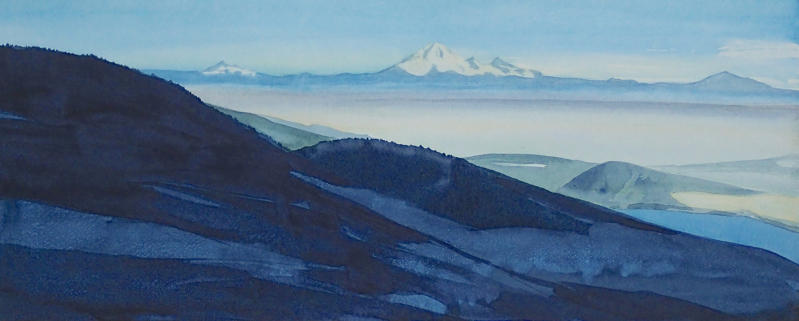 Baker from Grouse Mtn. (Sold)