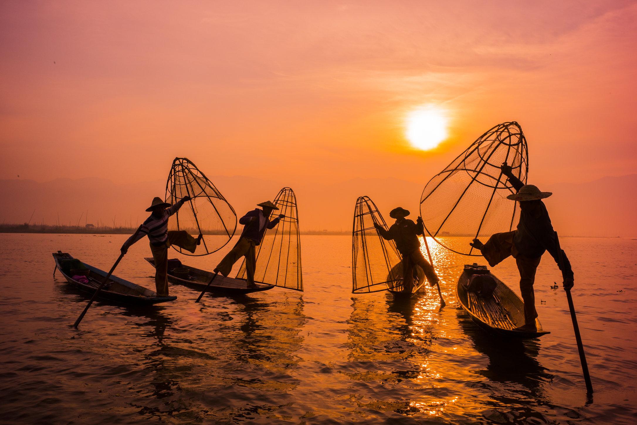 Inle Lake, Myanmar. 2015.