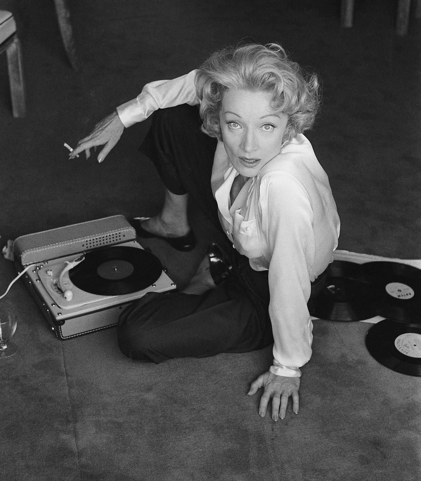 Marlene Dietrich, Monaco, 1956
