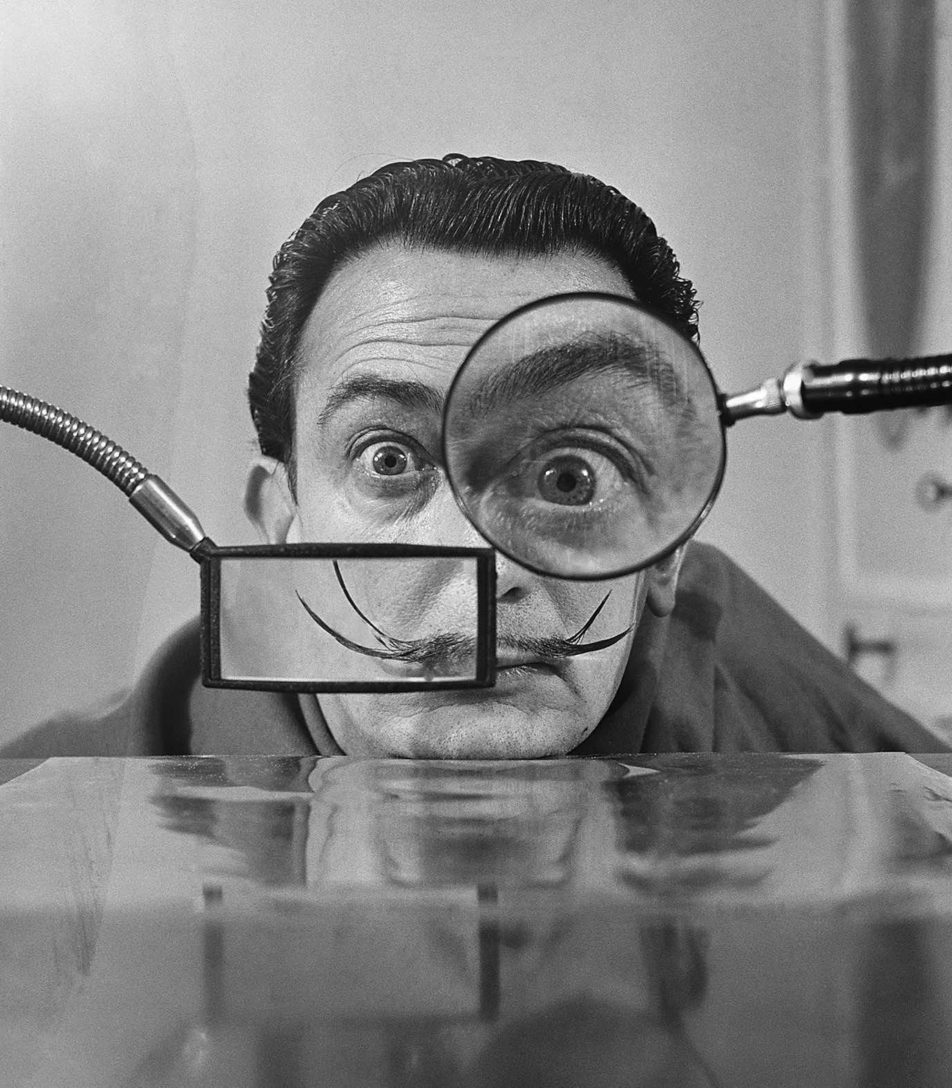 Salvador Dali, Paris, 1949