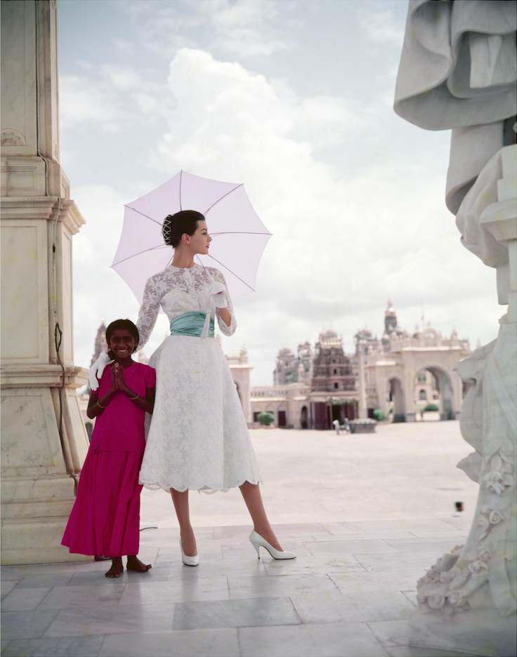 Winter Sunshine Wardrobe in India, Vogue, 1956 ©Norman Parkinson Ltd.png