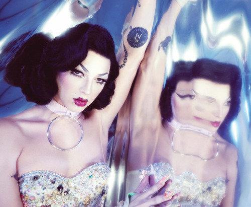 Violet Chachki x NYLON