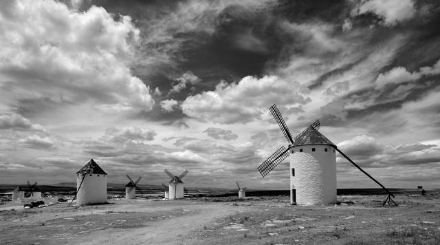 Les moulins à vent de Mota del Cuervo, Mancha