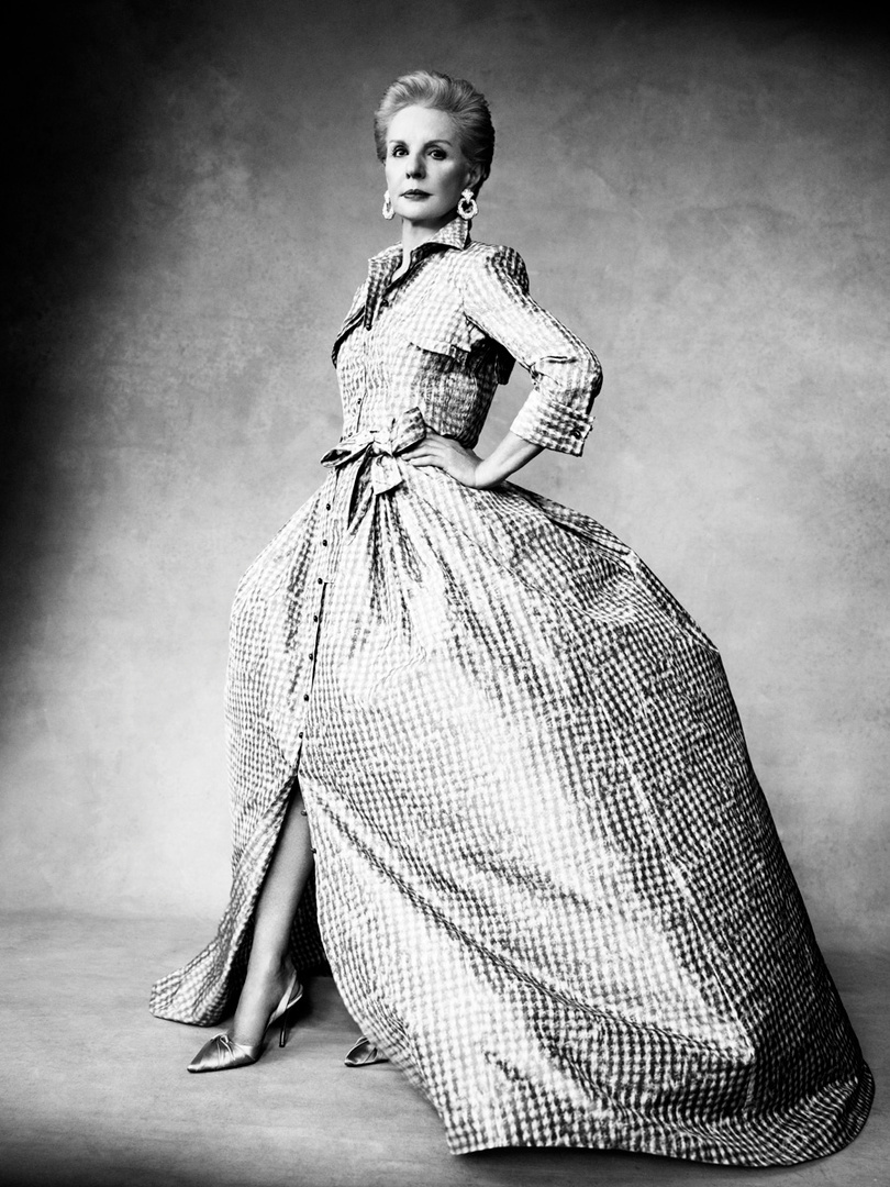 Harper's Bazaar. Carolina Herrera. Portrait of a Lady, June 2011