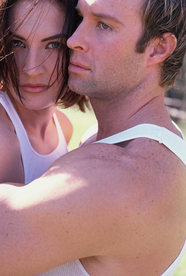 "MODEL COUPLE- He is Chris DiSibbio owner of ""Key Ingredients."""