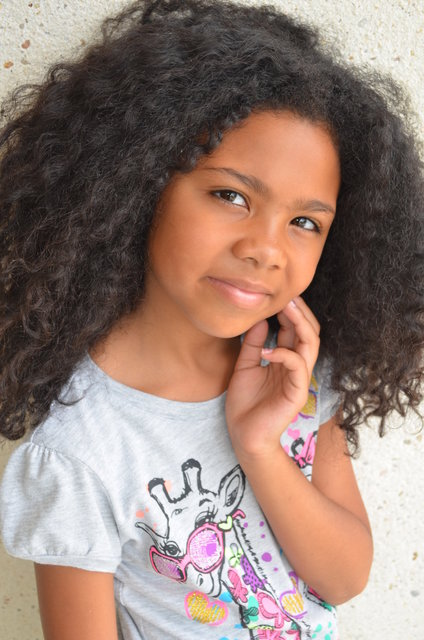 ASHAH -  CHILD MODEL and prima ballerina with COLUMBIA CITY BALLET, and SWIMMER.