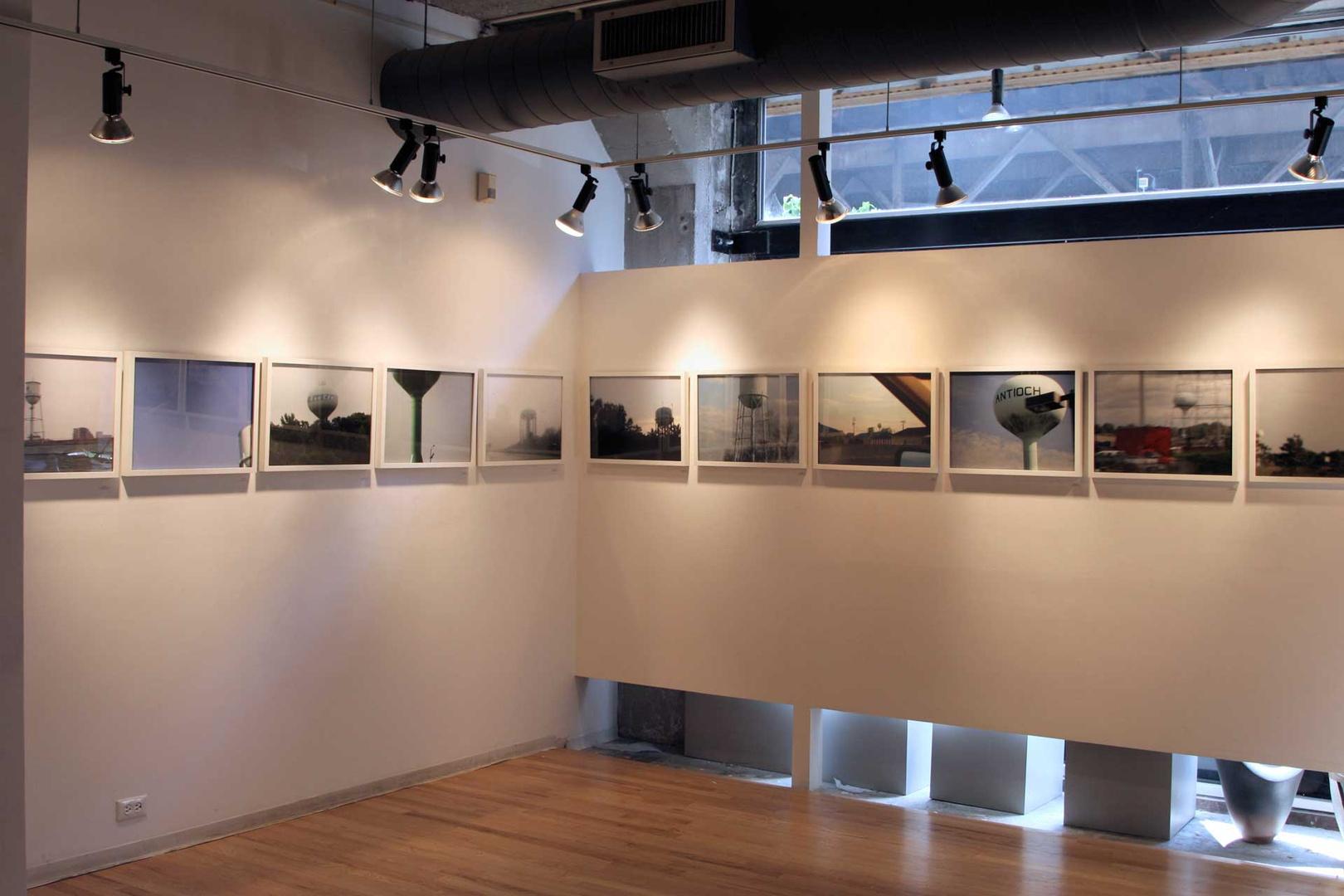 Commute: Water Towers, Schneider Gallery, Chicago,