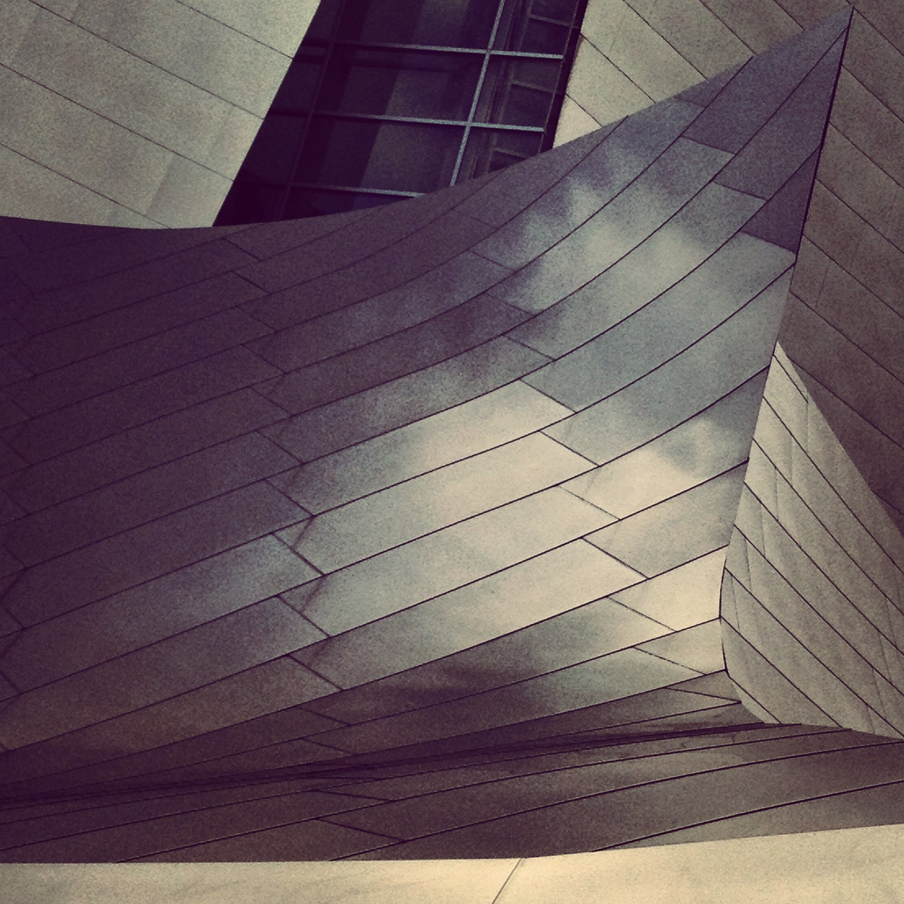 WALT DISNEY CONCERT HALL - B&W 6