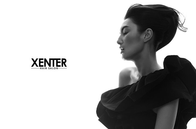 Xenter hair Salon Ad campaign