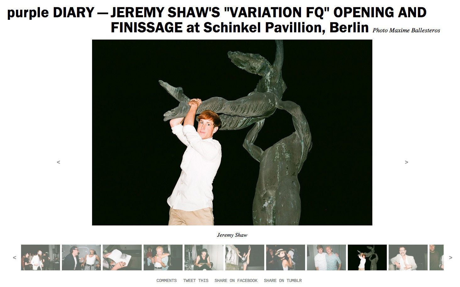 purple DIARY   JEREMY SHAW S  VARIATION FQ  OPENING AND FINISSAGE at Schinkel Pavillion  Berlin.jpg
