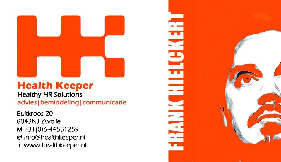 Businesscard for Health Keeper