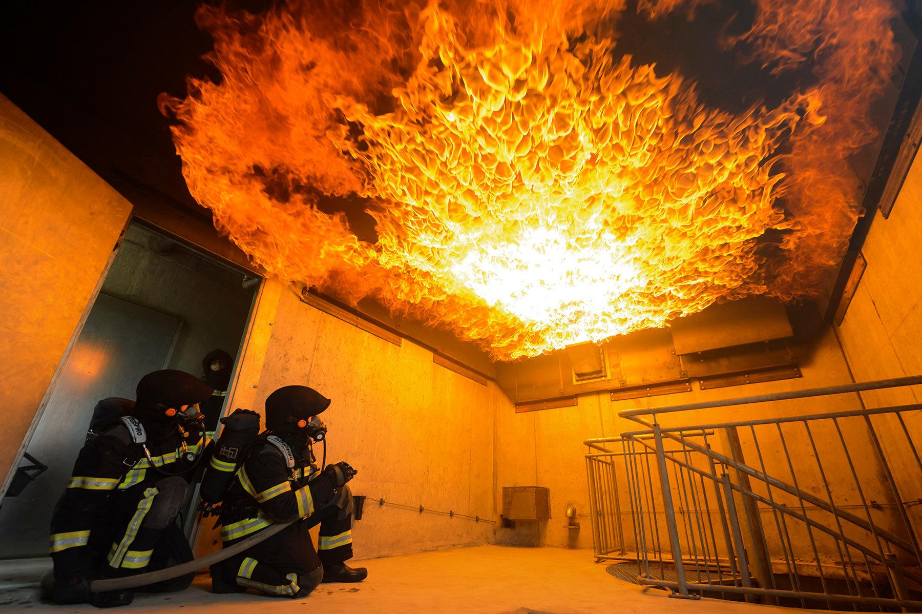 Simulateur Incendie - 2014