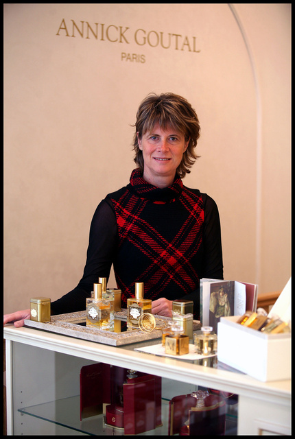 Brigitte Taittinger, PDG des parfums Annick Goutal