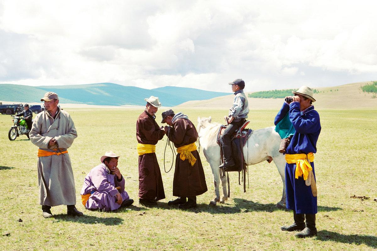 Naadam Spectators