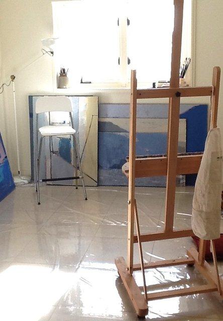 Olga's studio in Australia