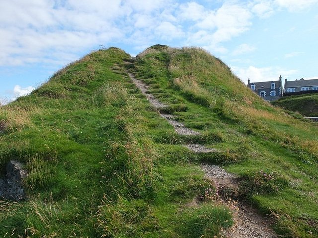 Coastal Mound Steps by Alison Gracie