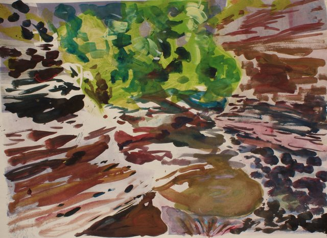 Small Gorge     22 x 29""