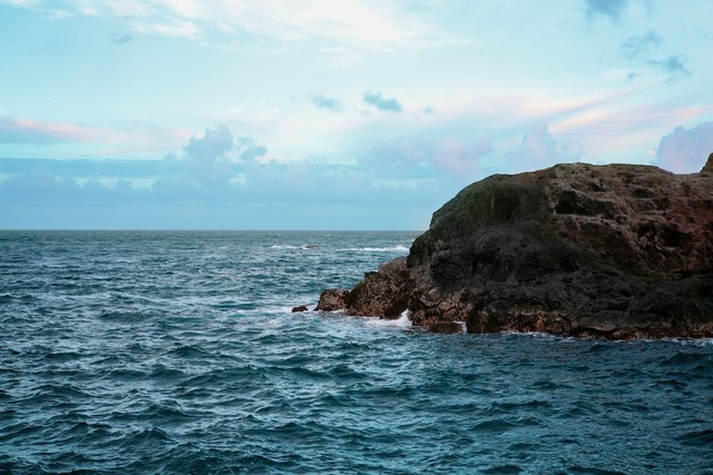 Mar rochoso em Lighthouse