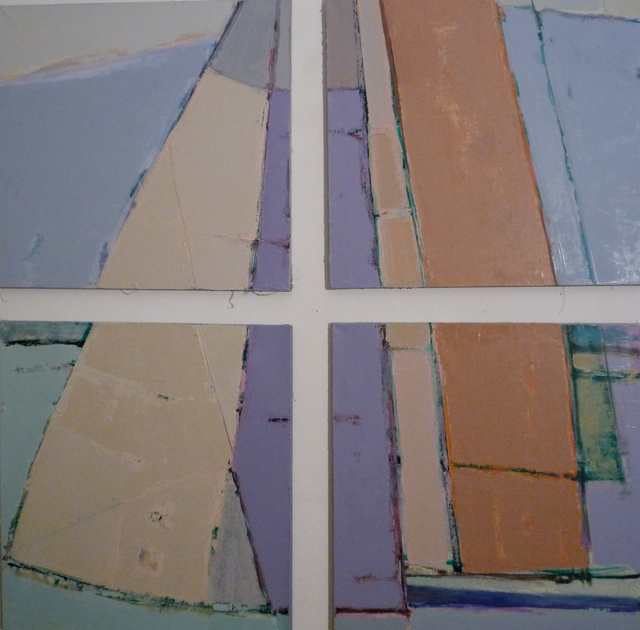 'Sailing boat' (polyptych)