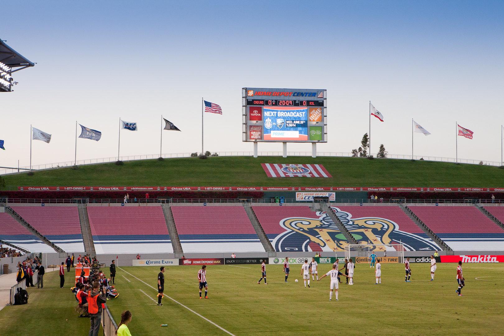 Brazil Stars vs FC Encino All Stars<br>6/16/2012 U8B Halftime Game<br>at Chivas vs Real Salt Lake