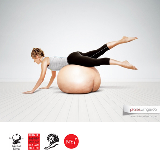 Pilates with Gerda  Press Ads