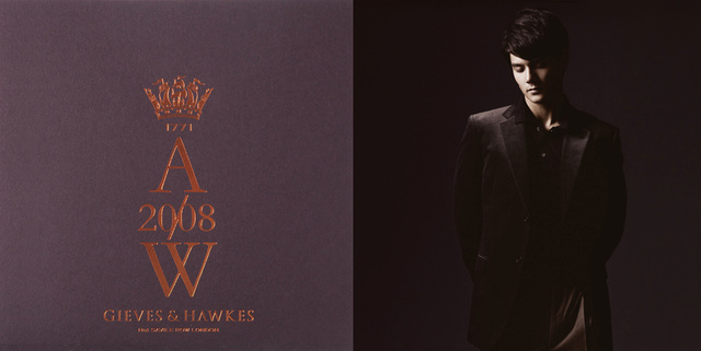 Gieves & Hawkes 2008 F/W