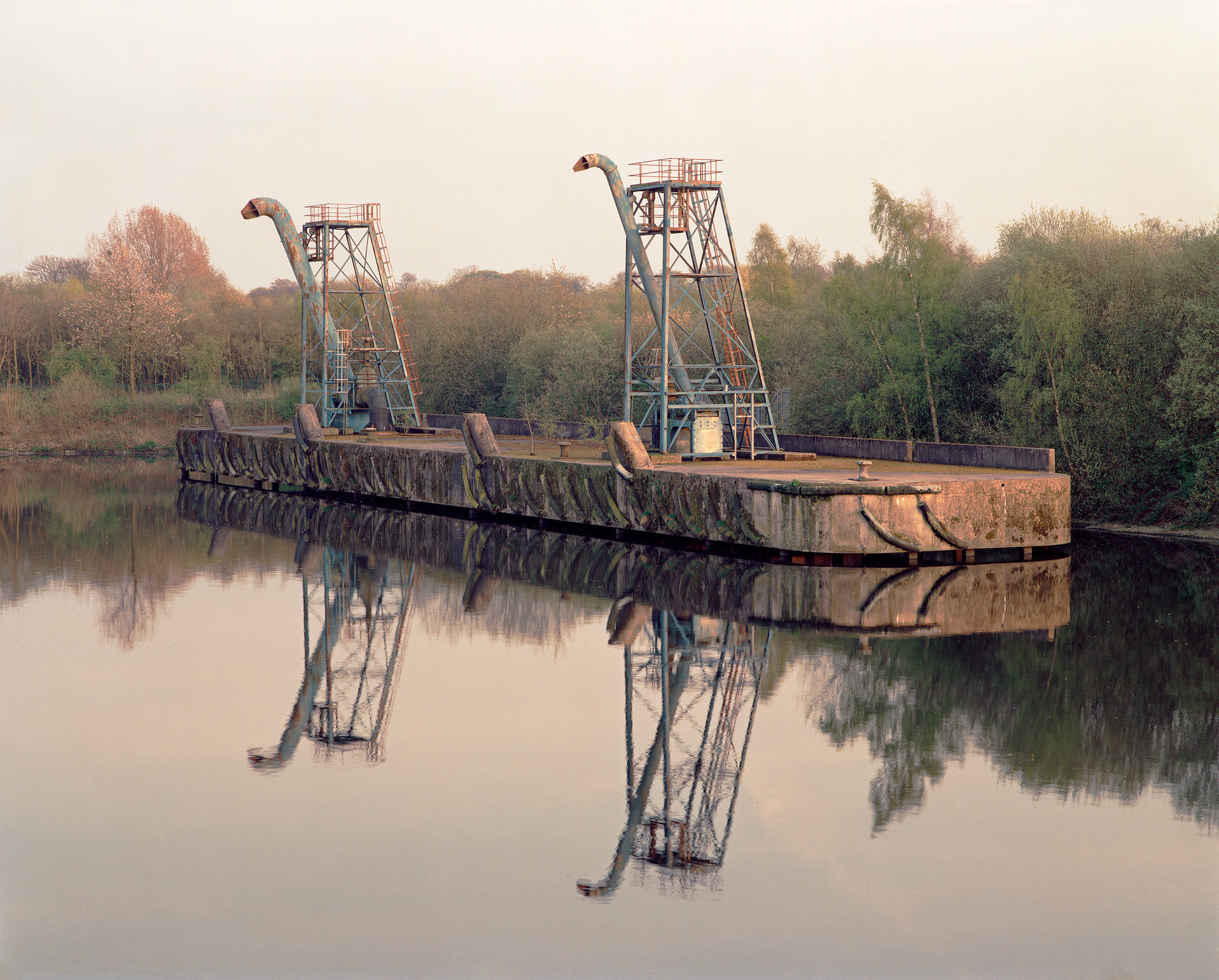 Sewage Hoppers, Manchester Shipping Canal