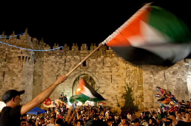 Porte de Damas- Jérusalem, dernier vendredi du ramadan