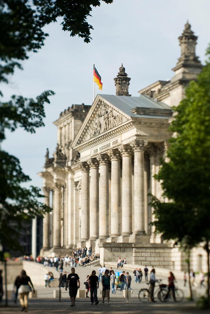 Reichstag, Berlin.