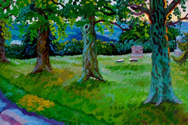"June Cemetery, 24 x 36"""
