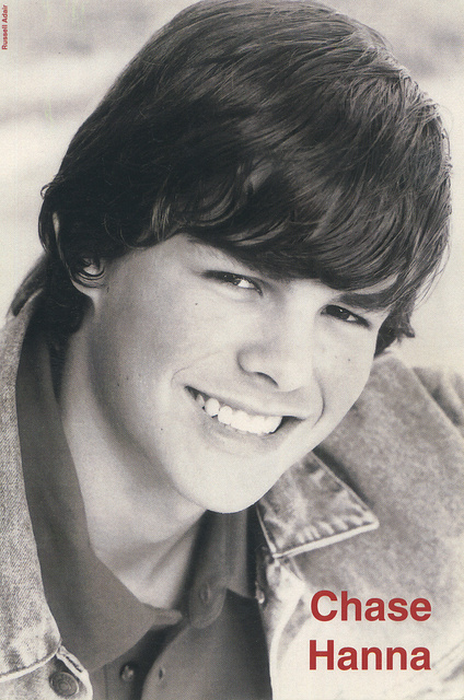 CHASE HANNA -  TEEN ACTOR,  COMMERCIAL MODEL