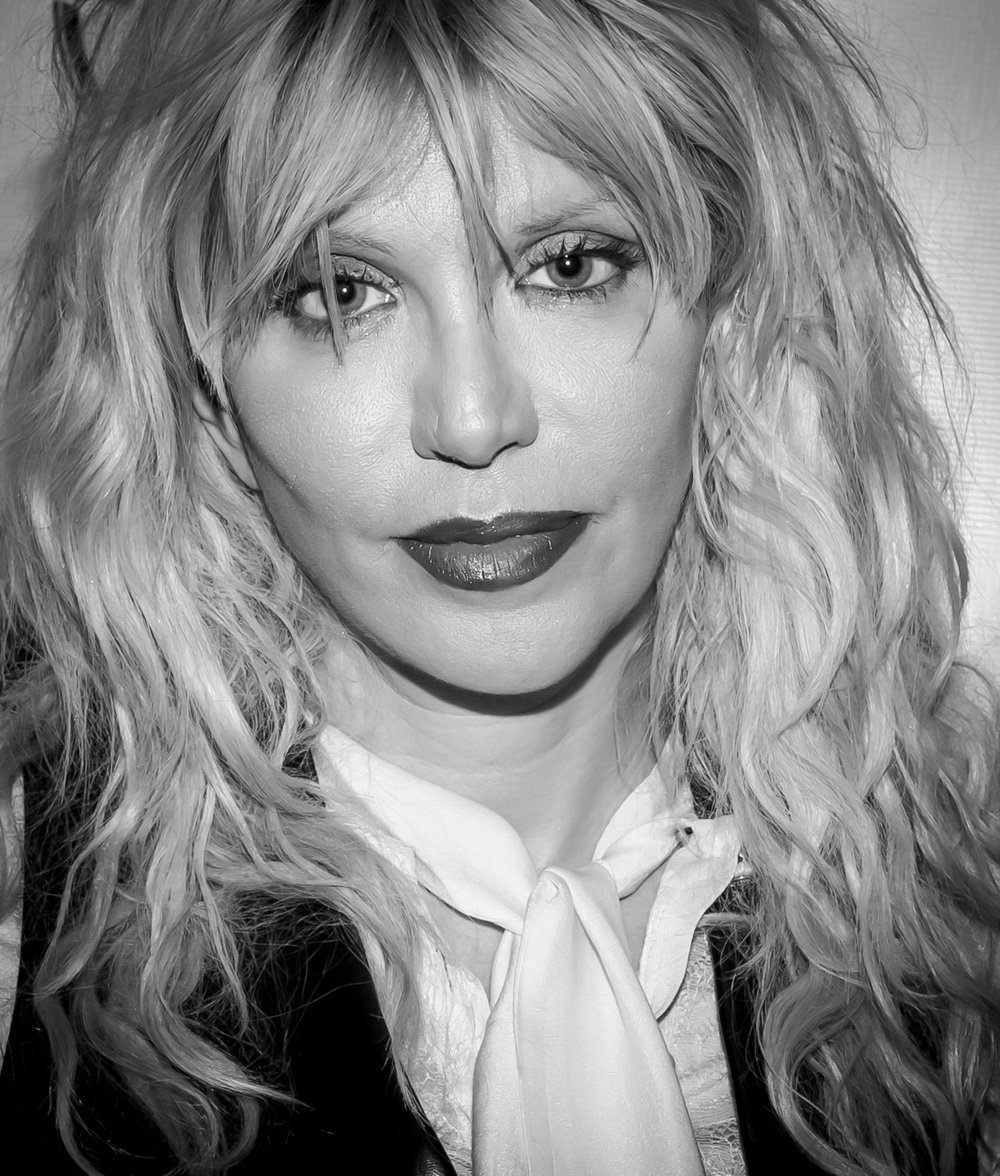 Courtney Love Celebrates VINYL Las Vegas 1 Year Anniversary