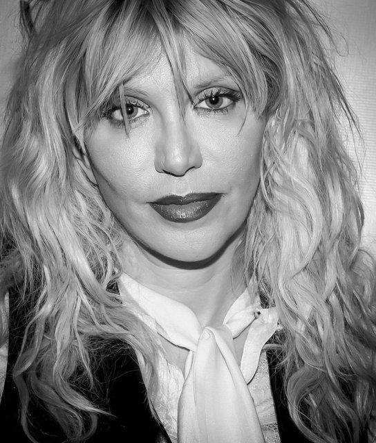 Courtney Love Celebrates VINYL Las Vegas 1 Year Anniversary