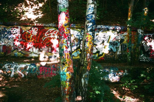 graphittis, Berlin-Schöneberg