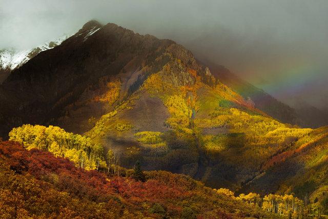 Rainbow Ruffler Mountain
