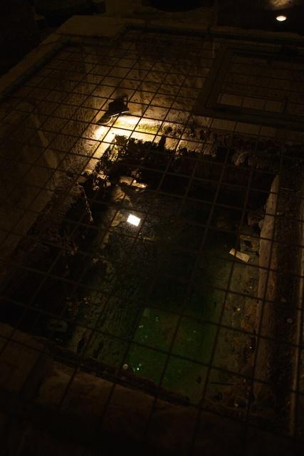 Poço em túmulo no Palácio Diocletian