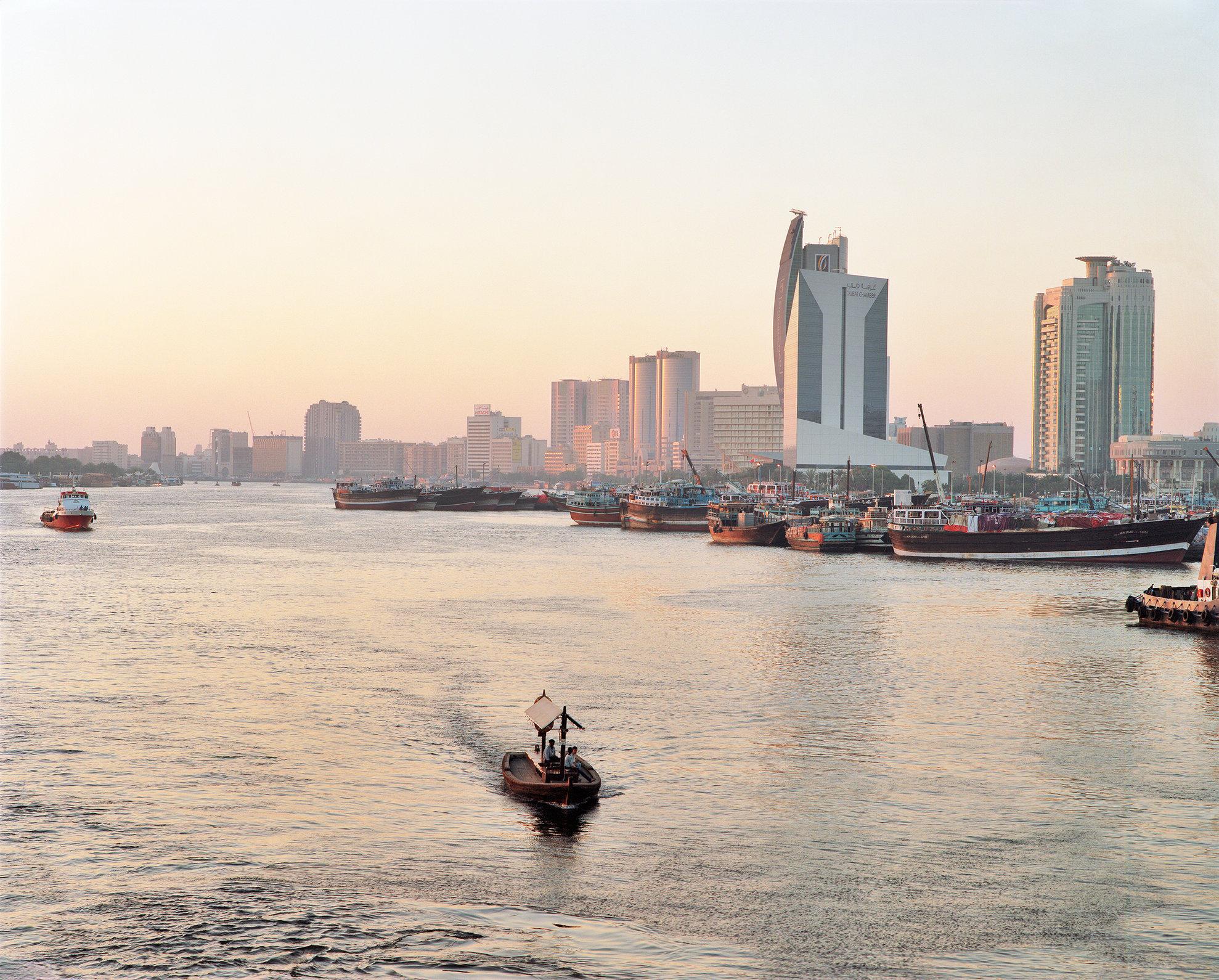 Dubai Creek and dhow wharfs